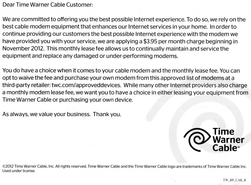 timewarner cable customer service